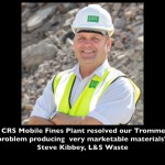 crs recover trommel fines