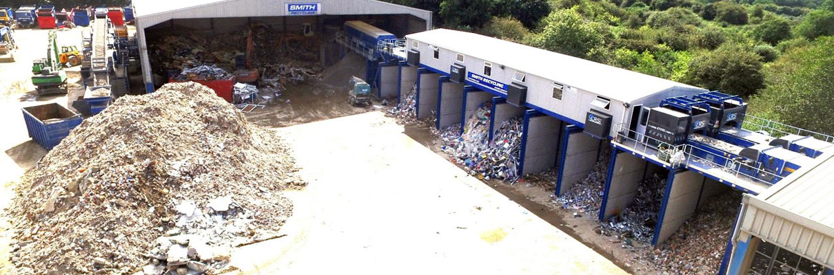 crs waste processing plant uk