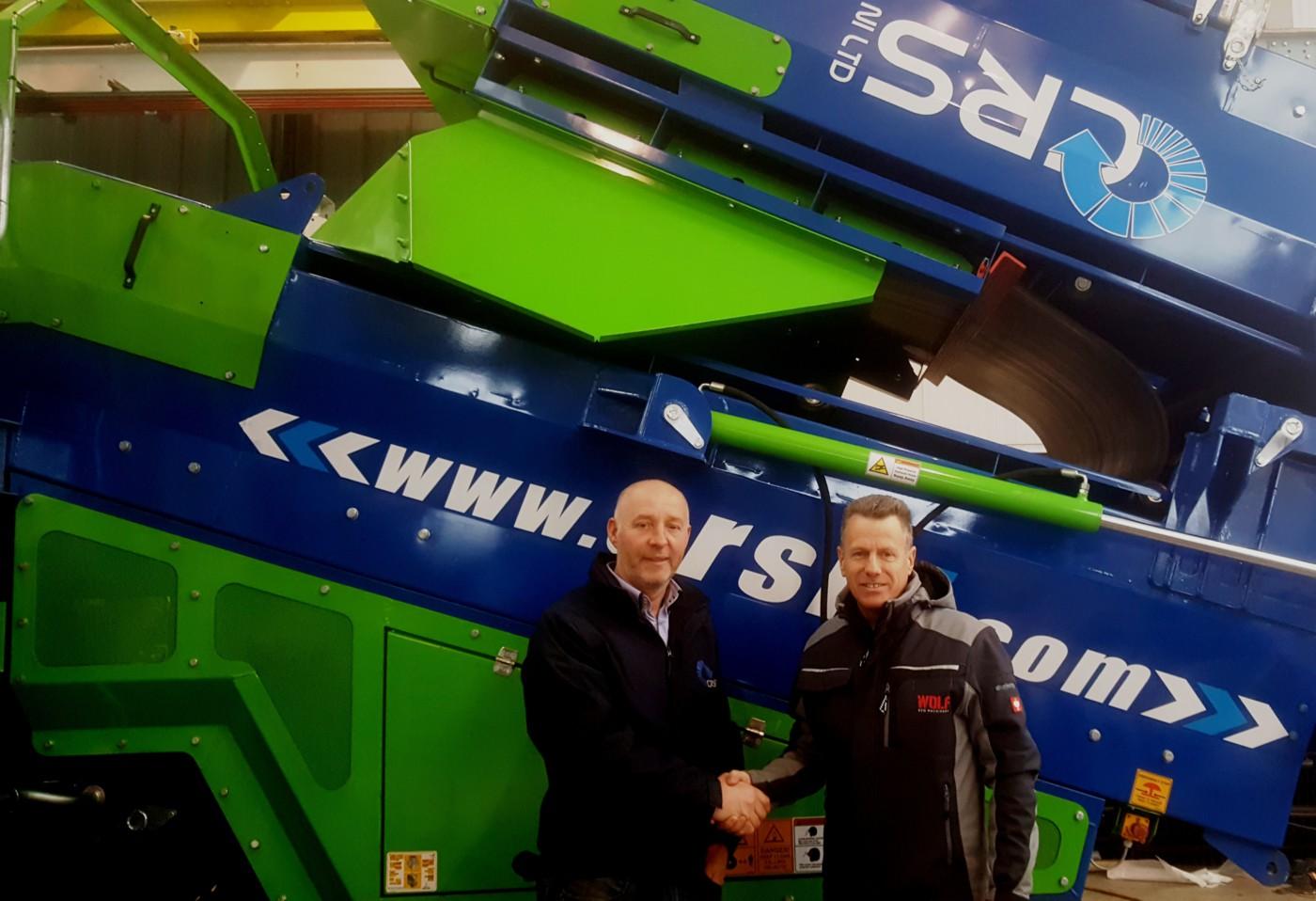 Sean Conlon CRS & Brian Bell Wolf Eco Machinery