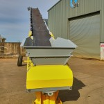 Mobile Radial Conveyor Hire